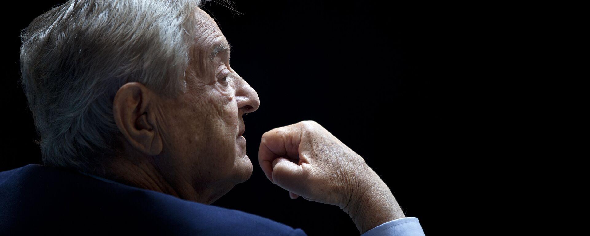 George Soros, multimillonario estadounidense - Sputnik Mundo, 1920, 08.09.2021