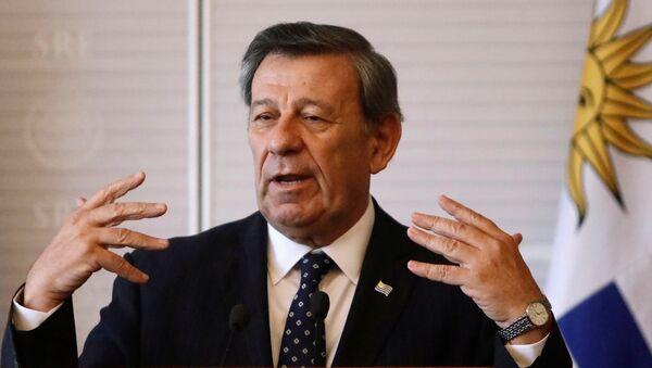 Rodolfo Nin Novoa, ministro de Relaciones Exteriores de Uruguay - Sputnik Mundo