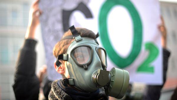 Protesta de ecologistas (archivo) - Sputnik Mundo