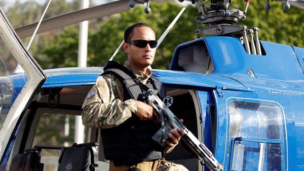 Óscar Pérez, piloto del helicóptero que atacó el Tribunal Supremo de Venezuela (archivo) - Sputnik Mundo