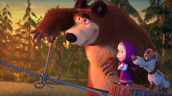 'Masha y el Oso', una popular serie rusa de dibujos animados - Sputnik Mundo