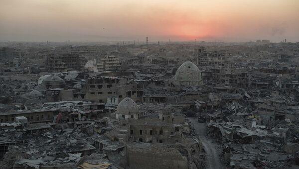 Zona oeste de Mosul, en Irak - Sputnik Mundo