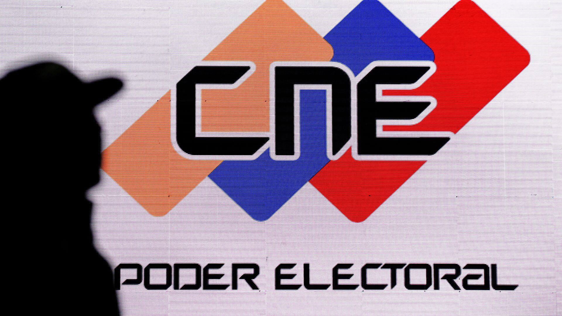 Logo de CNE de Venezuela - Sputnik Mundo, 1920, 10.03.2021