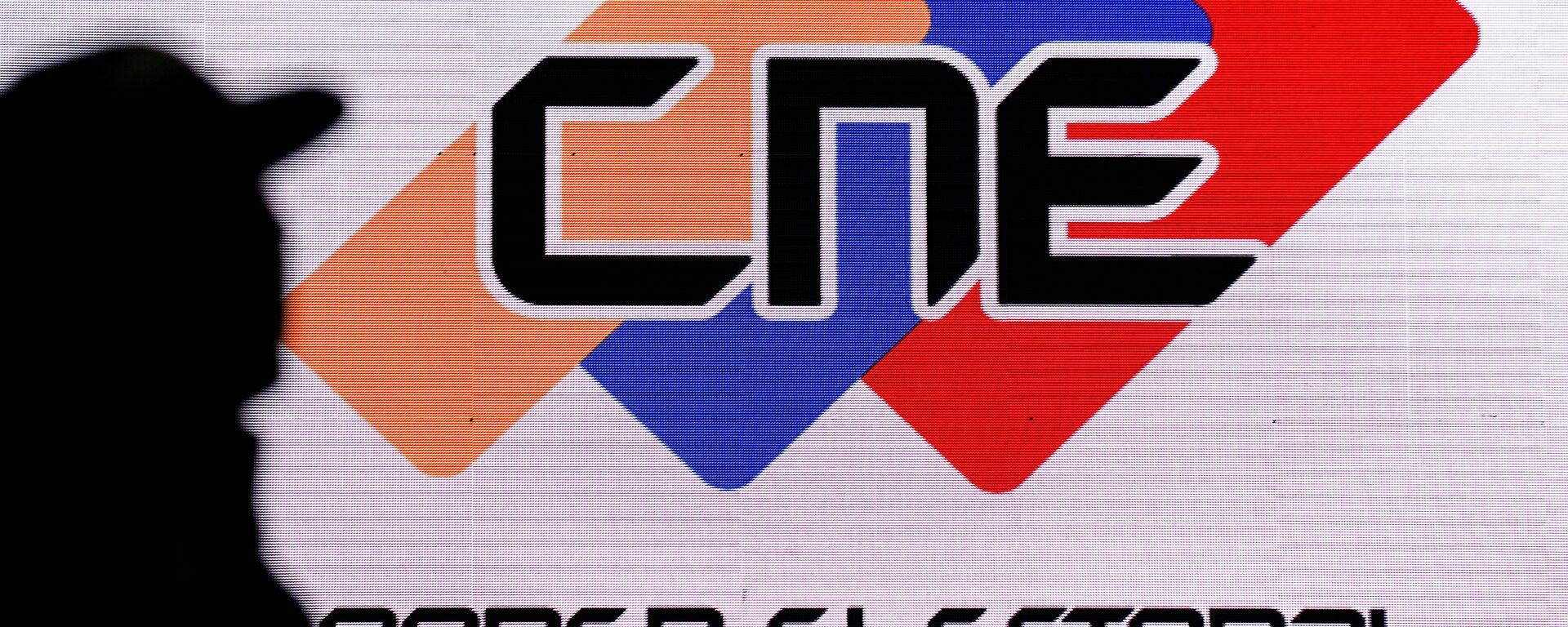 Logo de CNE de Venezuela - Sputnik Mundo, 1920, 17.08.2021