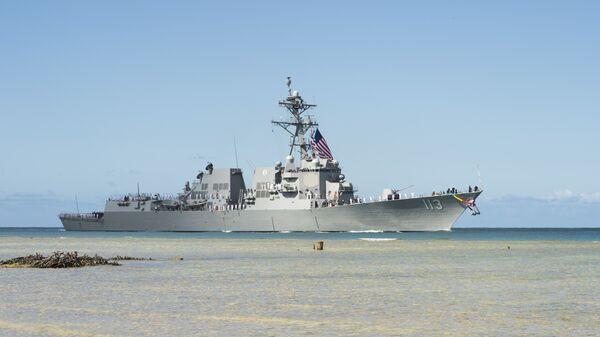 USS John Finn, el destructor de EEUU - Sputnik Mundo