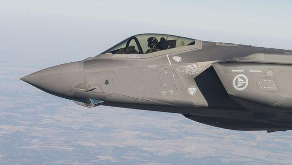 El caza F-35 - Sputnik Mundo
