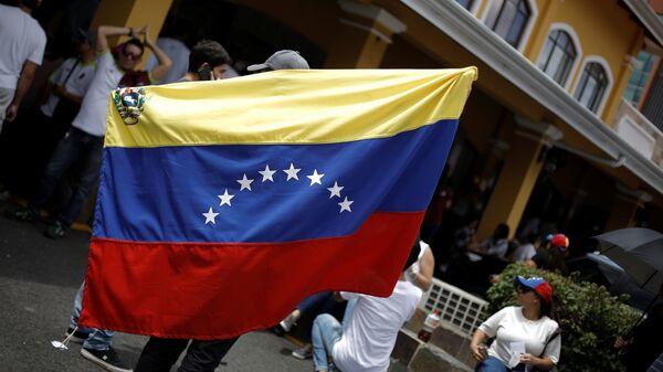 Bandera de Venezuela (imagen referencial) - Sputnik Mundo
