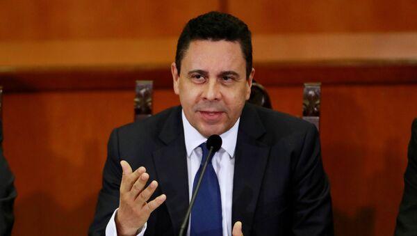 Samuel Moncada, ministro venezolano de Exteriores - Sputnik Mundo