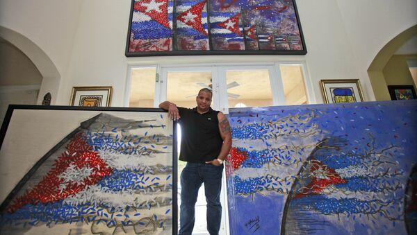 Michel Mirabal, artista cubano - Sputnik Mundo