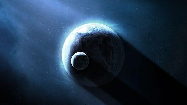 La Tierra y la Luna (imagen referencial) - Sputnik Mundo