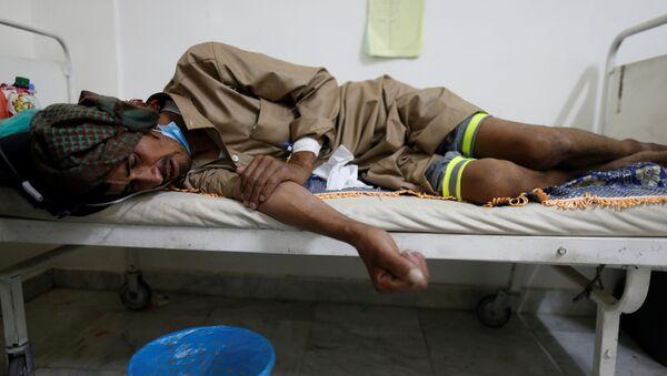 Epidemia de cólera en Yemen - Sputnik Mundo