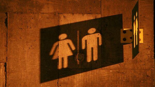 Símbolo de un hombre y una mujer (imagen referencial) - Sputnik Mundo