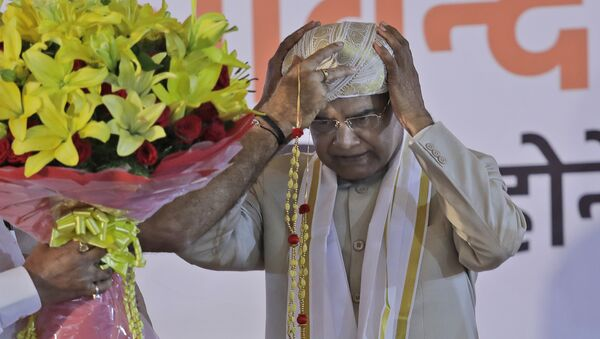Ram Nath Kovind, presidente de la India - Sputnik Mundo