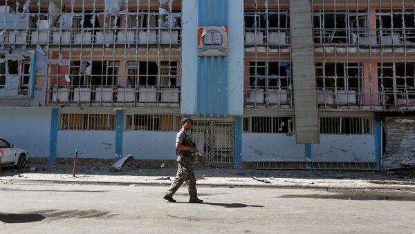 Un militar afgano (archivo) - Sputnik Mundo