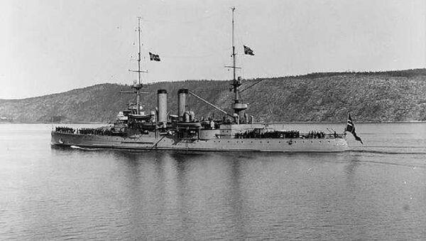 El buque de guerra noruego Norge - Sputnik Mundo