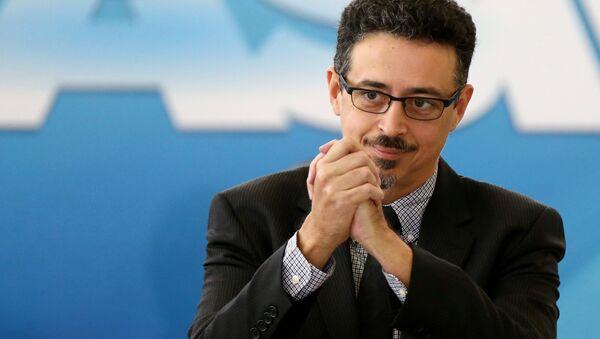 Sérgio Sá Leitao, el ministro de Cultura de Brasil - Sputnik Mundo