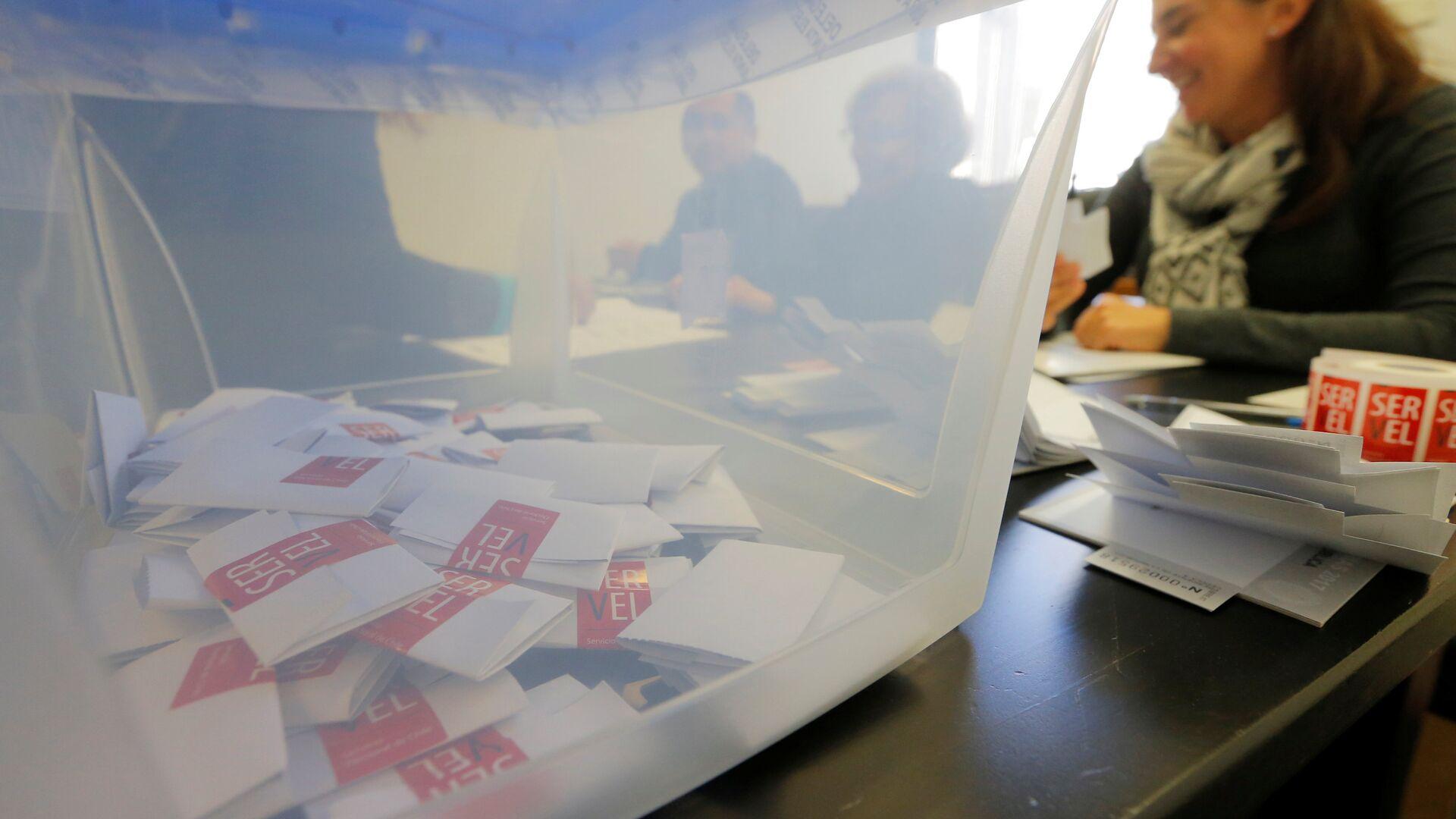 Elecciones primarias presidenciales de Chile (archivo) - Sputnik Mundo, 1920, 11.03.2021