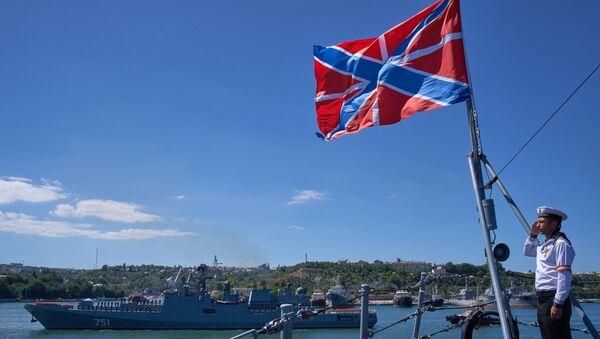 La fragata rusa Almirante Essen (archivo) - Sputnik Mundo