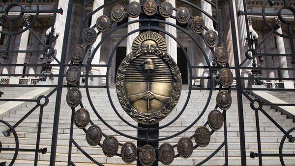 Edificio de Congreso de la Nación Argentina en Buenos Aires - Sputnik Mundo