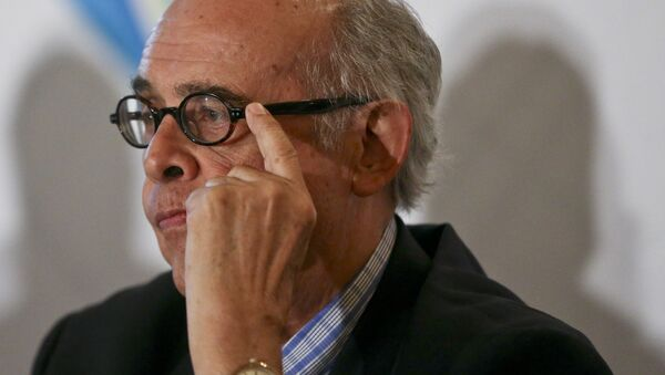 Ricardo Luna, el canciller de Perú - Sputnik Mundo