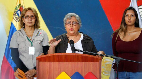 Tibisay Lucena, presidente del Consejo Nacional Electoral de Venezuela - Sputnik Mundo