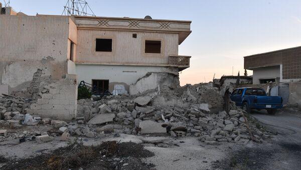 Situación en  Guta Oriental siria - Sputnik Mundo
