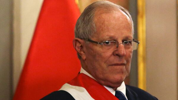 Pedro Pablo Kuczynski, presidente electo de Perú - Sputnik Mundo