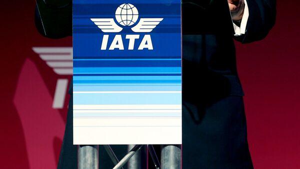 Logo de IATA - Sputnik Mundo