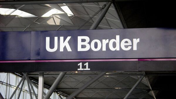 Frontera de Gran Bretaña - Sputnik Mundo