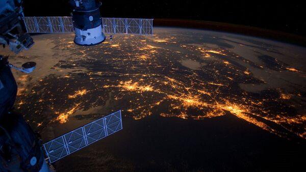 El planeta Tierra visto desde la Estación Espacial Internacional - Sputnik Mundo