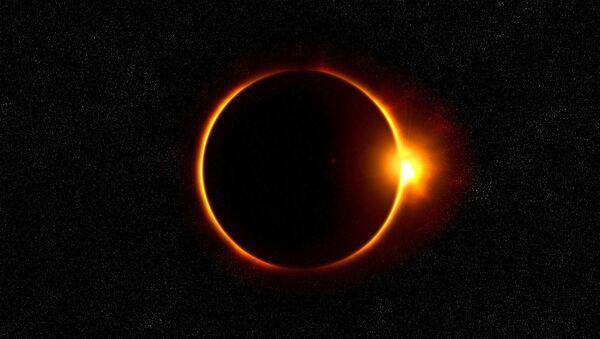 Eclipse solar (imagen referencial) - Sputnik Mundo