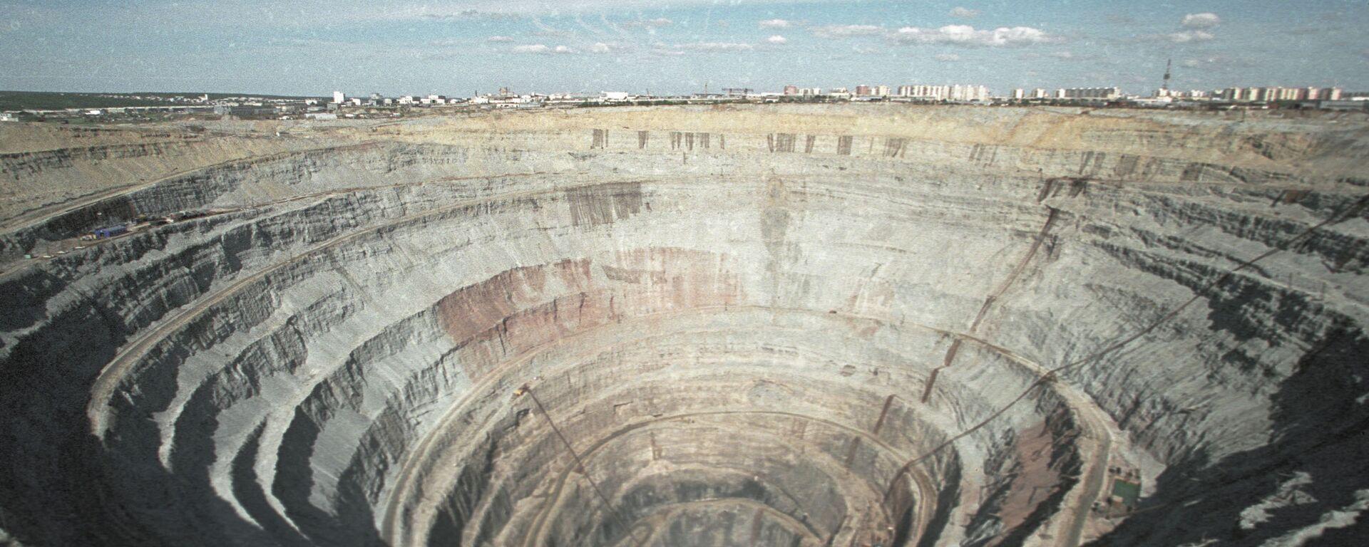 Mina de diamantes, imagen referencial - Sputnik Mundo, 1920, 06.03.2021