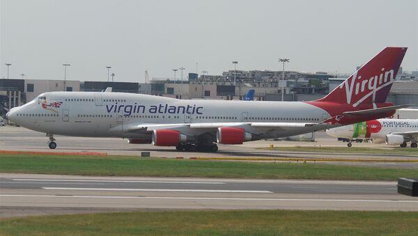 El Boeing 747-400 de Virgin Atlantic, la 'carrera' anterior de Cosmic Girl - Sputnik Mundo