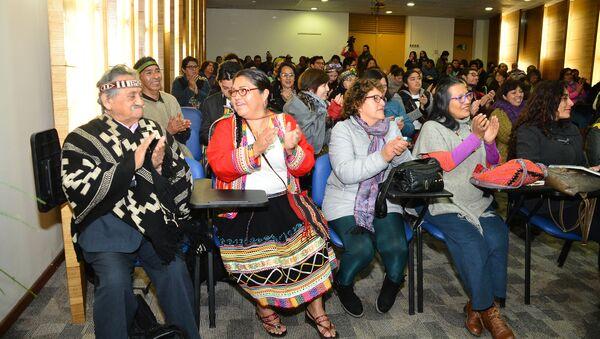 Aula inaugural de la Escuela de Idiomas Indígenas en Santiago de Chile - Sputnik Mundo
