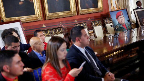 La primera sesión de la Asamblea Nacional Constituyente en Venezuela - Sputnik Mundo