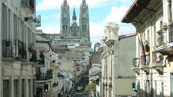 Casco histórico de Quito, capital de Ecuador (archivo) - Sputnik Mundo