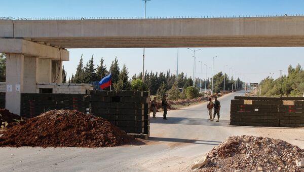 La autopista Homs-Hama en Siria - Sputnik Mundo