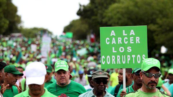 El Movimiento Verde en las calles de Santo Domingo, República Dominicana - Sputnik Mundo