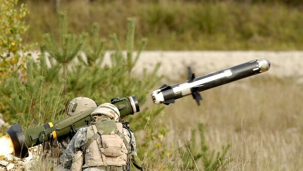 Sistema de misiles antitanque Javelin (archivo) - Sputnik Mundo