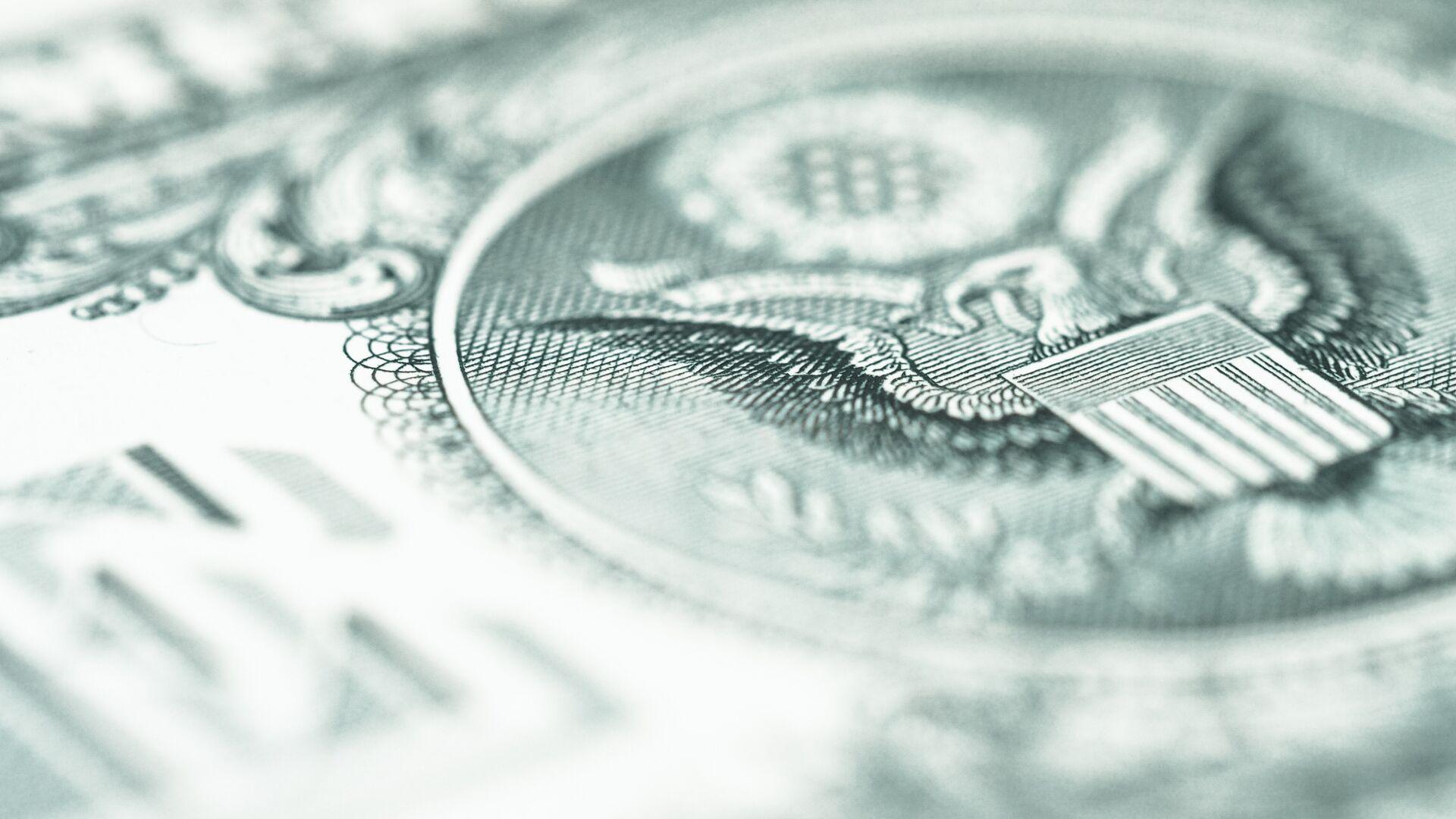 Un dólar (imagen referencial) - Sputnik Mundo, 1920, 09.02.2021