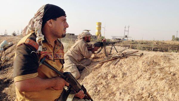 Grupos de autodefensa chiíes en el norte de Irak (archivo) - Sputnik Mundo
