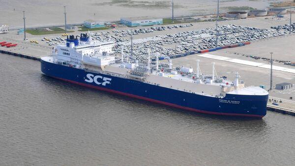 El buque cisterna Christophe de Margerie - Sputnik Mundo