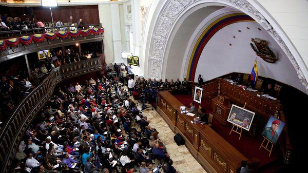 Sesión de la Asamblea Constituyente de Venezuela - Sputnik Mundo