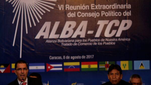 La VI Reunión Extraordinaria del Consejo Político de la ALBA-TCP en Caracas, Venezuela - Sputnik Mundo