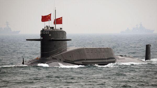 Un submarino chino - Sputnik Mundo