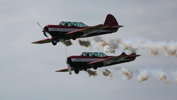 Los aviones Yak-52 - Sputnik Mundo