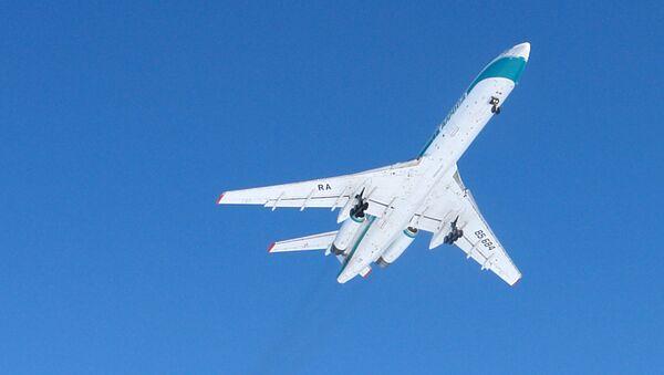 Un avión Tu-154 - Sputnik Mundo