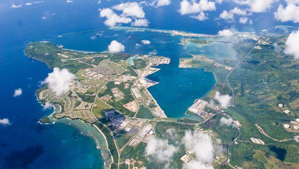 Una base estadounidense en la isla de Guam - Sputnik Mundo