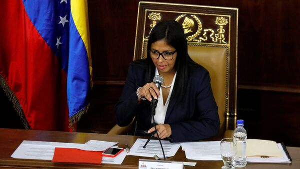 Delcy Rodríguez, presidenta de la Asamblea Nacional Constituyente - Sputnik Mundo