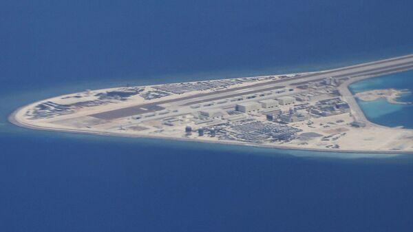 Islas de arena en el mar del Sur de China (archivo) - Sputnik Mundo